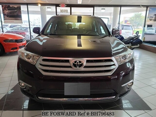 Used 2012 TOYOTA HIGHLANDER BH796483 for Sale