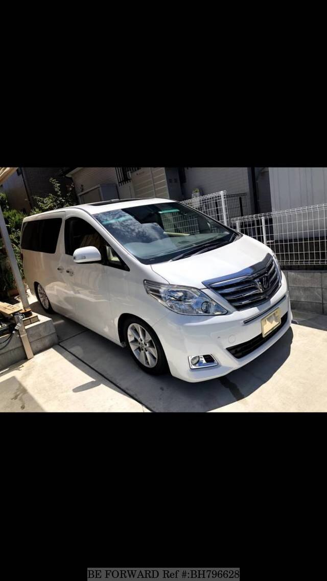 Used 2013 TOYOTA ALPHARD BH796628 for Sale
