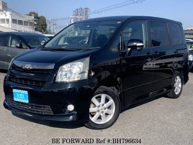 Used 2008 TOYOTA NOAH BH796634 for Sale