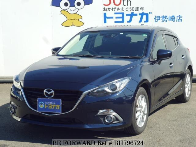Used 2014 MAZDA AXELA SPORT BH796724 for Sale