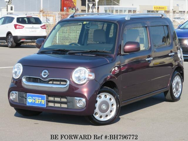 Used 2014 DAIHATSU MIRA COCOA BH796772 for Sale