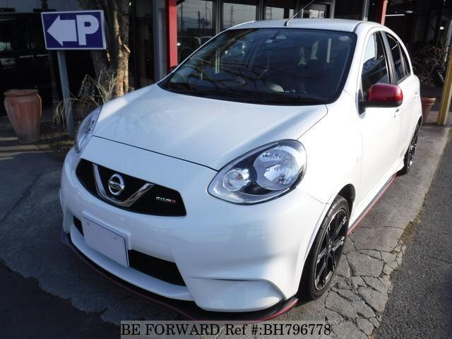Used 2017 NISSAN MARCH BH796778 for Sale