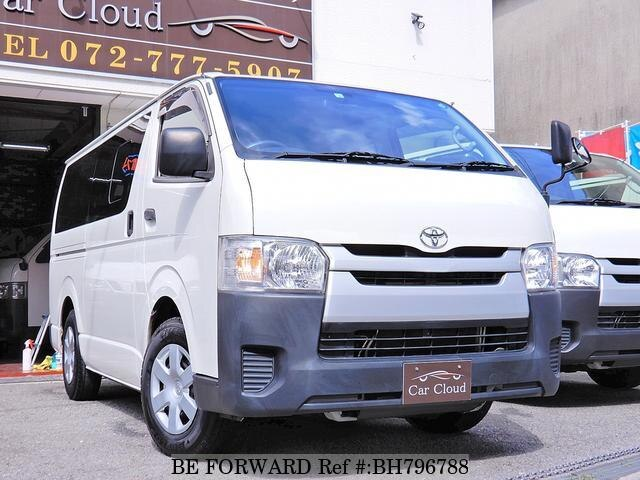Used 2016 TOYOTA HIACE VAN BH796788 for Sale