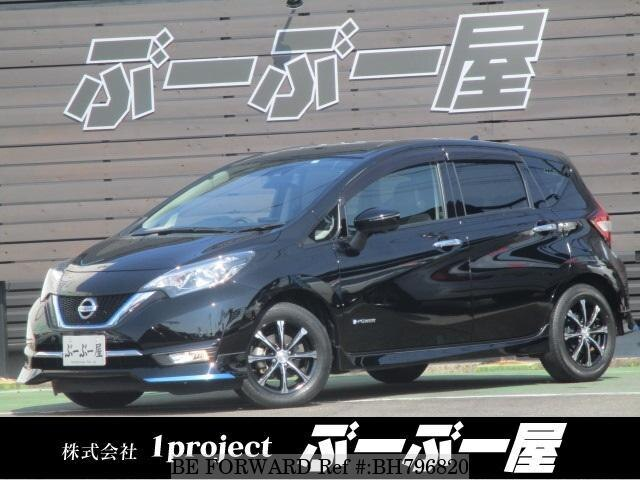 Used 2016 NISSAN NOTE BH796820 for Sale