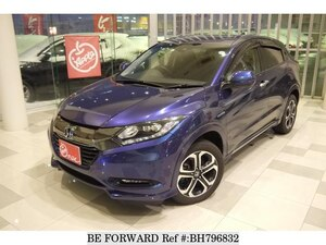 Used 2017 HONDA VEZEL BH796832 for Sale