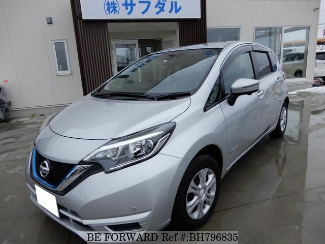 Used 2020 NISSAN NOTE BH796835 for Sale