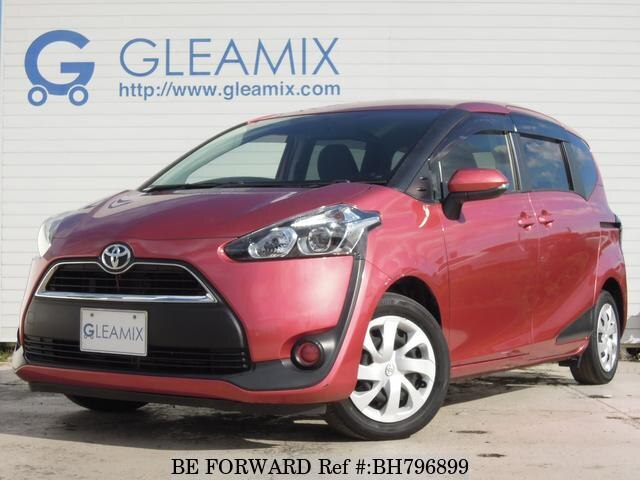 Used 2016 TOYOTA SIENTA BH796899 for Sale