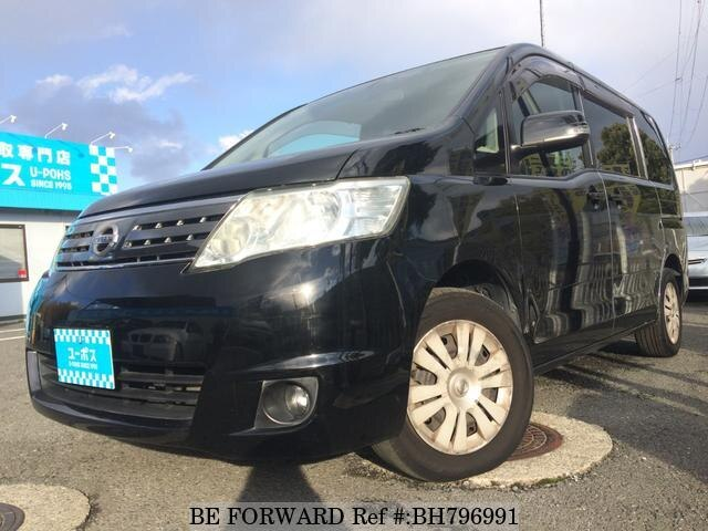 Used 2009 NISSAN SERENA BH796991 for Sale