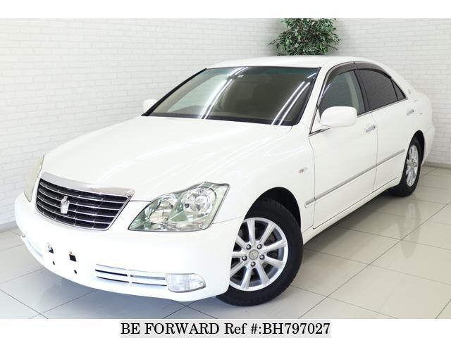 Used 2005 TOYOTA CROWN BH797027 for Sale