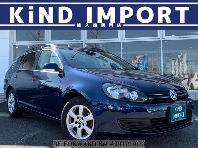 Used 2012 VOLKSWAGEN GOLF VARIANT BH797033 for Sale