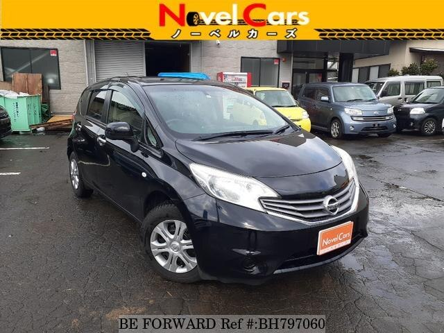 Used 2013 NISSAN NOTE BH797060 for Sale