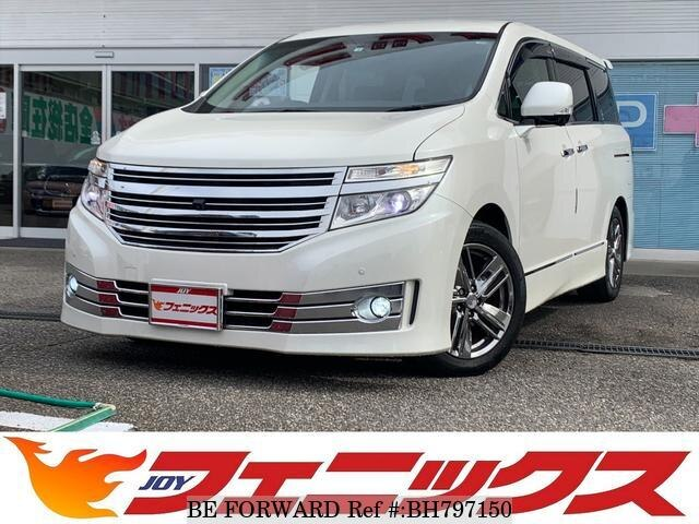 Used 2012 NISSAN ELGRAND BH797150 for Sale