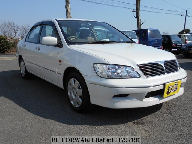 Used 2002 MITSUBISHI LANCER CEDIA BH797196 for Sale