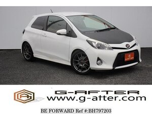 Used 2013 TOYOTA VITZ BH797203 for Sale