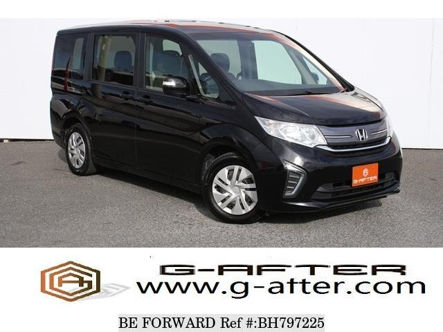 Used 2015 HONDA STEP WGN BH797225 for Sale