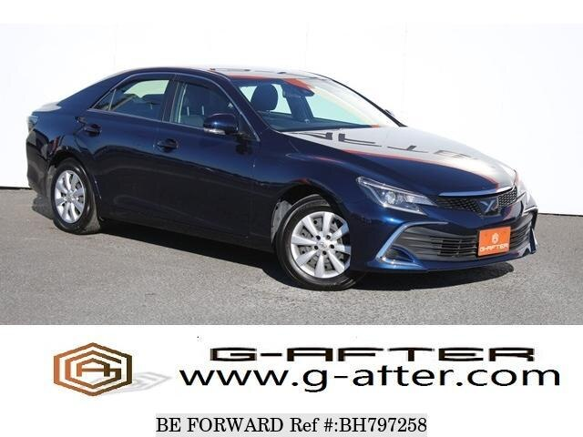 Used 2017 TOYOTA MARK X BH797258 for Sale