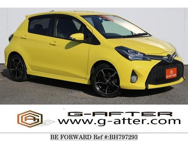 Used 2016 TOYOTA VITZ BH797293 for Sale