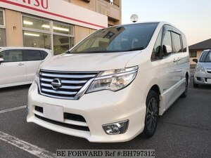 Used 2014 NISSAN SERENA BH797312 for Sale