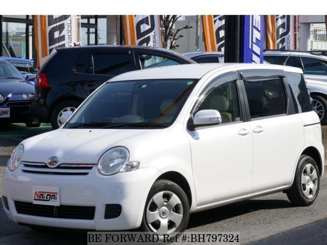 Used 2008 TOYOTA SIENTA BH797324 for Sale
