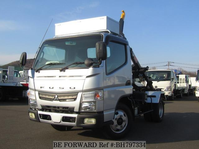 Used 2014 MITSUBISHI CANTER BH797334 for Sale