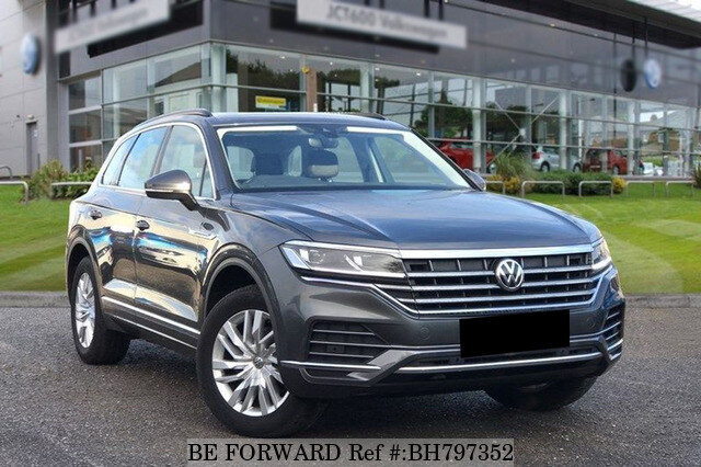 Used 2018 VOLKSWAGEN TOUAREG BH797352 for Sale