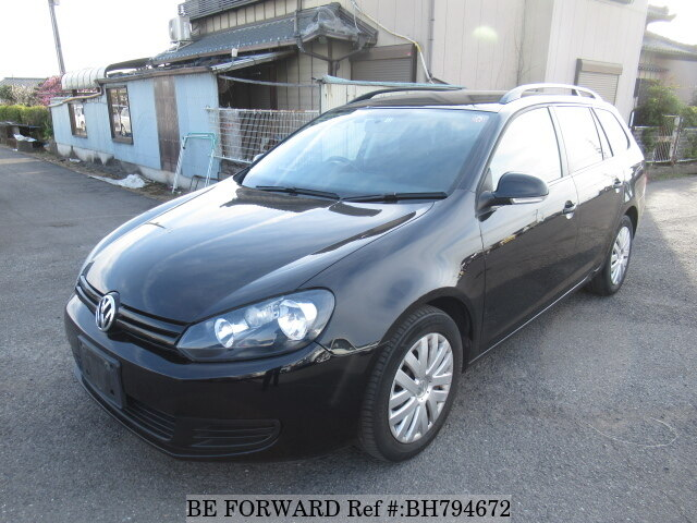 Used 2010 VOLKSWAGEN GOLF VARIANT BH794672 for Sale