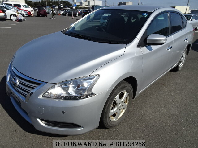 Used 2013 NISSAN SYLPHY BH794258 for Sale