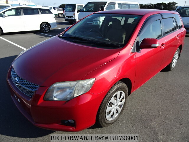 Used 2006 TOYOTA COROLLA FIELDER BH796001 for Sale