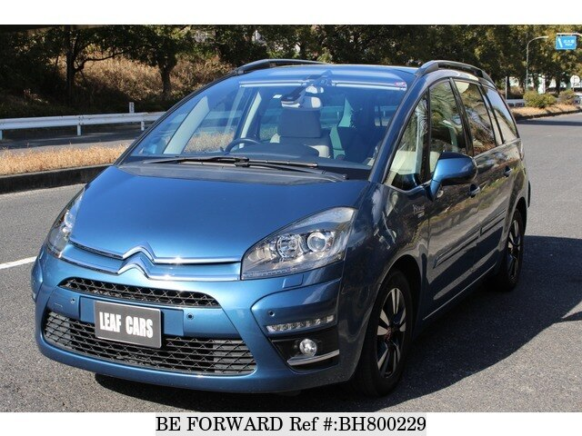 Used 2012 CITROEN C4 PICASSO BH800229 for Sale
