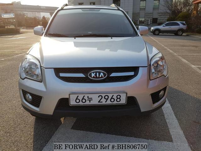 Used 2009 KIA SPORTAGE BH806750 for Sale