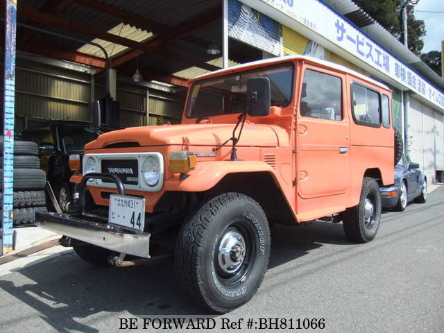 Used 1981 TOYOTA LAND CRUISER BH811066 for Sale