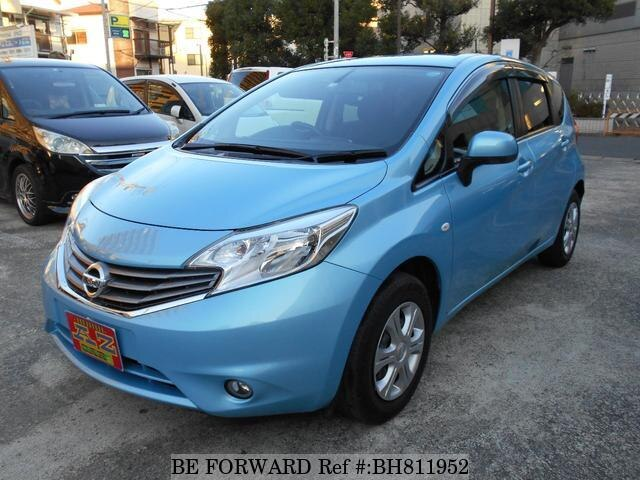 Used 2013 NISSAN NOTE BH811952 for Sale