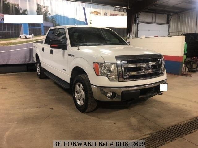 Used 2013 FORD F150 BH812699 for Sale