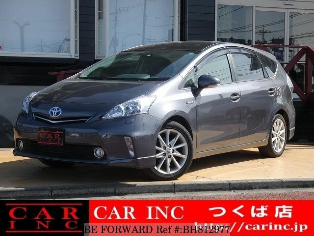 Used 2012 TOYOTA PRIUS ALPHA BH812977 for Sale