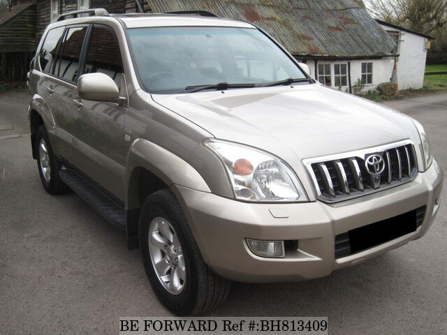 Used 2003 TOYOTA LAND CRUISER BH813409 for Sale