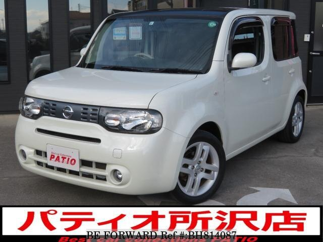 Used 2008 NISSAN CUBE BH814087 for Sale