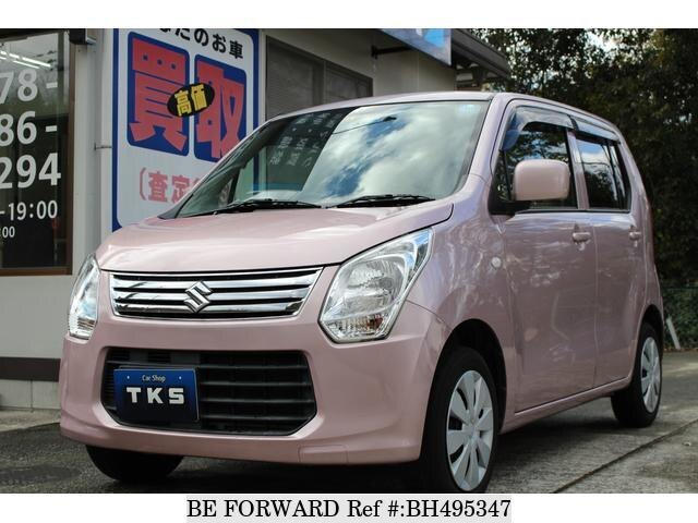 Used 2013 SUZUKI WAGON R BH495347 for Sale