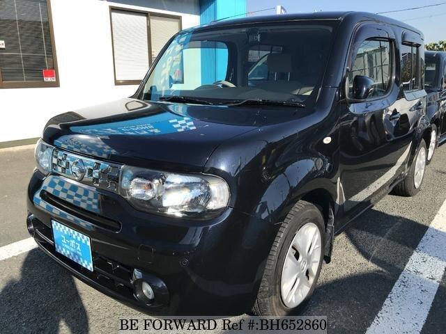 Used 2010 NISSAN CUBE BH652860 for Sale