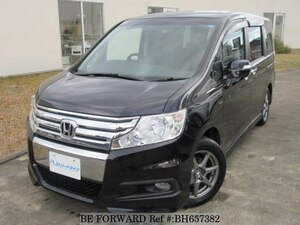 Used 2011 HONDA STEP WGN BH657382 for Sale