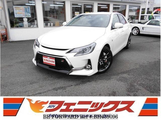 Used 2017 TOYOTA MARK X BH659096 for Sale