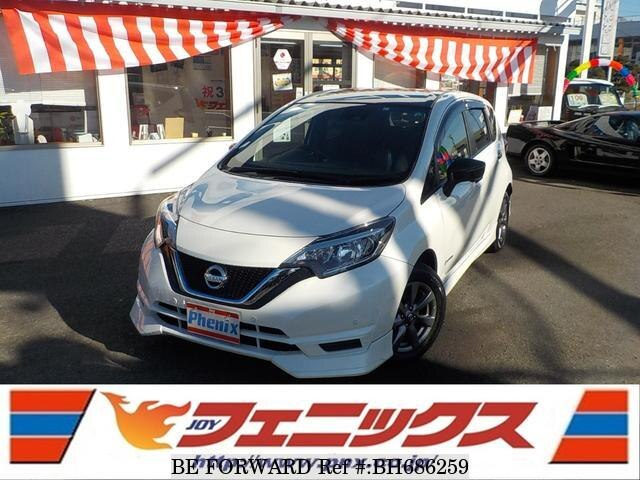 Used 2019 NISSAN NOTE BH686259 for Sale