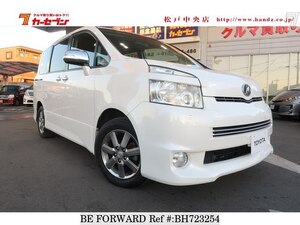 Used 2010 TOYOTA VOXY BH723254 for Sale