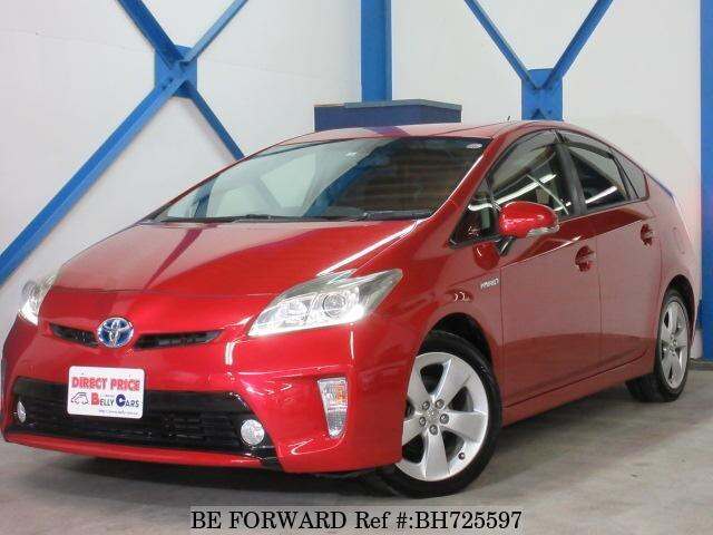 Used 2012 TOYOTA PRIUS BH725597 for Sale