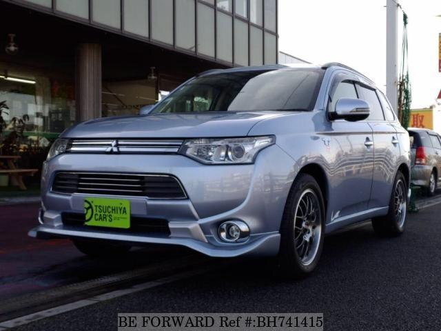 Used 2013 MITSUBISHI OUTLANDER PHEV BH741415 for Sale