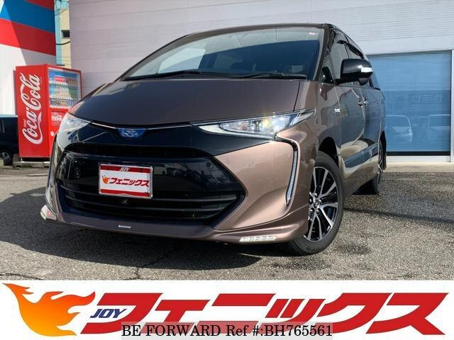 Used 2016 TOYOTA ESTIMA HYBRID BH765561 for Sale