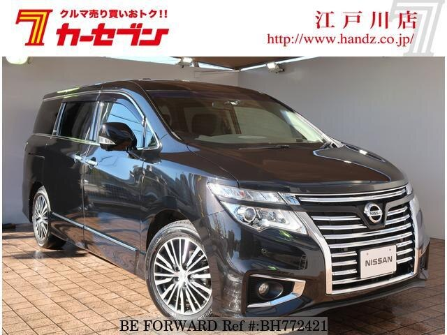 Used 2018 NISSAN ELGRAND BH772421 for Sale