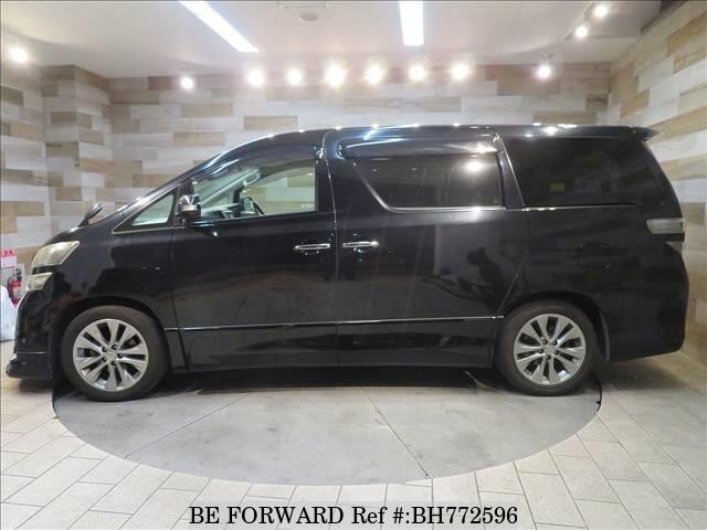 Used 2010 TOYOTA VELLFIRE BH772596 for Sale