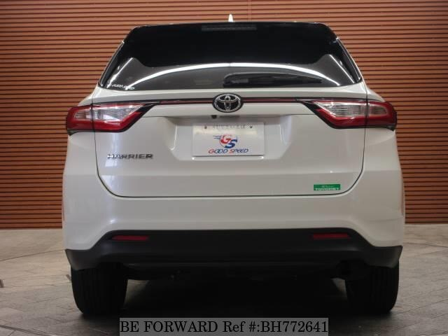 Used 2017 TOYOTA HARRIER BH772641 for Sale