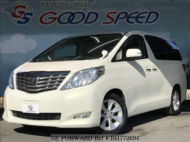 Used 2008 TOYOTA ALPHARD BH772694 for Sale