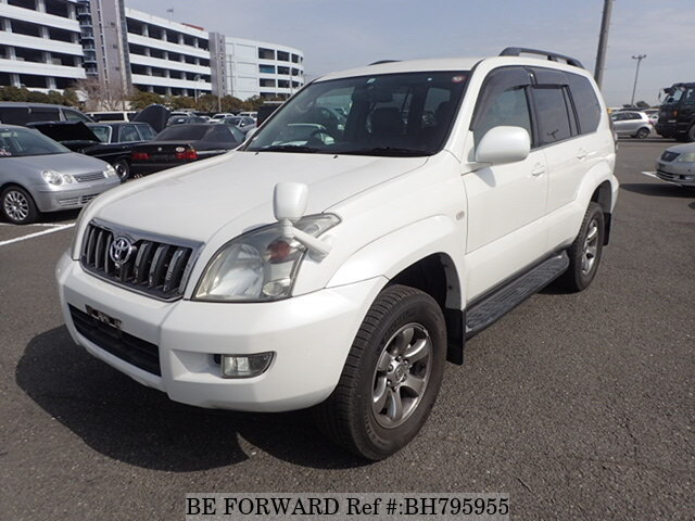 Used 2008 TOYOTA LAND CRUISER PRADO BH795955 for Sale